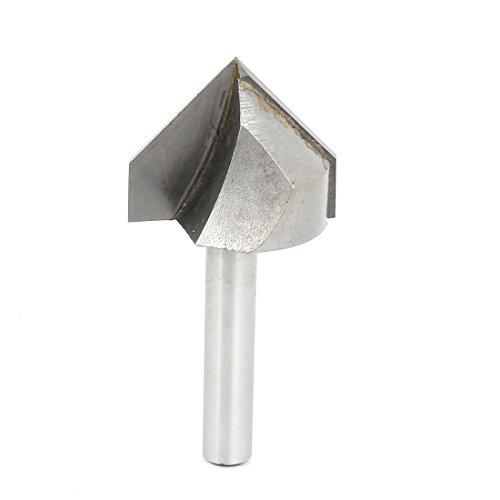 14 Shank 1 Cutting Diameter V Type Slotting Cutter Grooving Bit