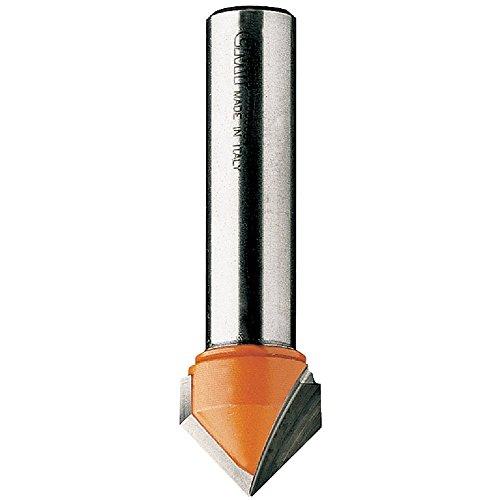 CMT 81569011 V-Grooving Bit 12-Inch Shank 34-Inch Diameter Carbide-Tipped