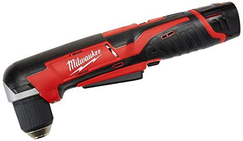 Milwaukee 2415-21 M12 12V 38 Cordless Right Angle DrillDriver Kit