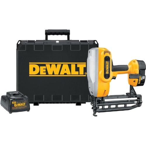 DEWALT DC616K XRP 18-Volt Cordless 1-14-Inch - 2-12-Inch 16 Gauge Straight Finish Nailer Kit