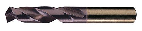 Chicago Latrobe 559TA Series Cobalt Steel Short Length Drill Bit TiAlN Coated Round Shank 135 Degree Split Point 516 Size  Pack of 6