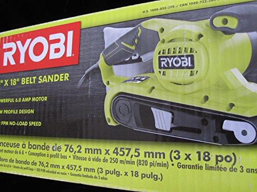 3 in x 18 in Portable Belt Sander