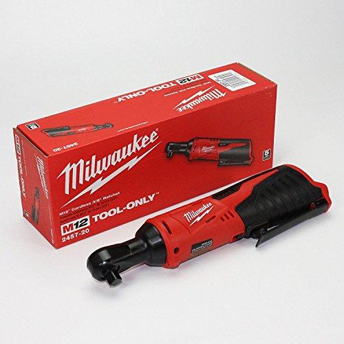 Milwaukee 2457-20  M12 Cordless 38 Lithium-Ion Ratchet Bare Tool