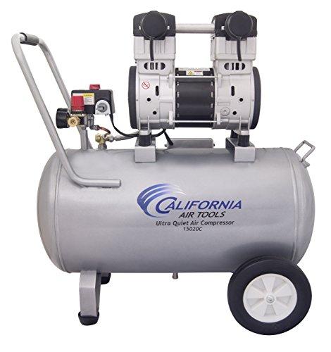 California Air Tools 15020C Ultra Quiet Oil-Free 20 Hp 150 gallon Steel Tank Air Compressor