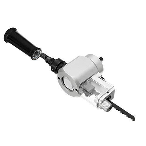 WXQ-XQ YT-180A Double Head Wood Sheet Metal Nibbler Cutter Power Drill Attachment Holder Tool Drill Chuck