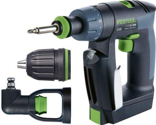 564274 Festool CXS Li 13 Cordless Drill Set