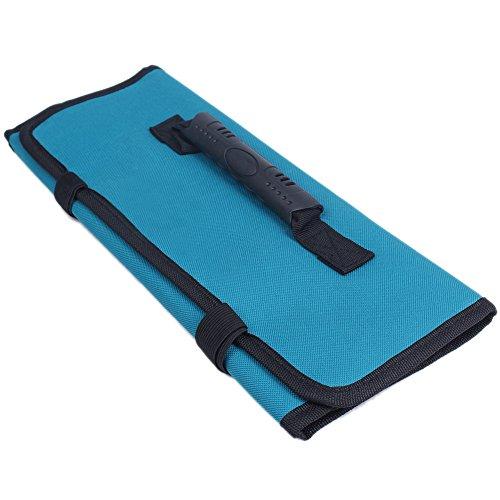 Multi-Purpose Pocket Reel Rolling Tool Bag Waterproof Pliers Screwdriver Spanner Carry Case Pouch Bag