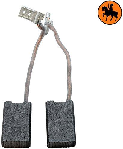 Buildalot Universal Carbon Brushes bu_8719468496721 for AEG Atlas Copco Milwaukee Powertools - 025x049x079 - 63x125x20mm - Replaces original parts 4931259495 4931369476