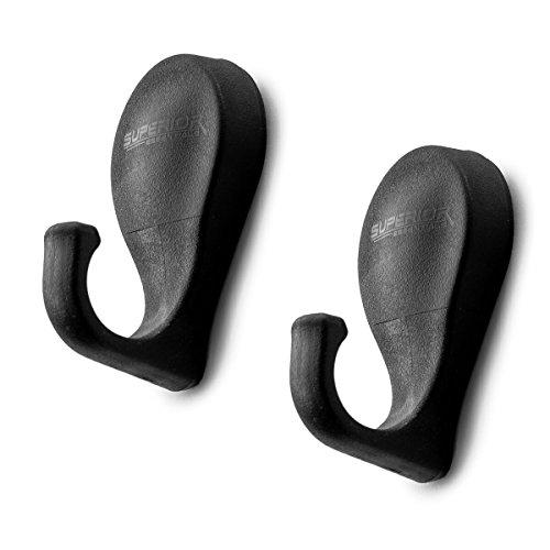 Magnetized Tool Hooks For Grill-Fridge-Cabinet Set of 2
