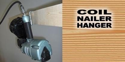 Tool Hangers 81006 COIL NAILER HANGER Hanger Only