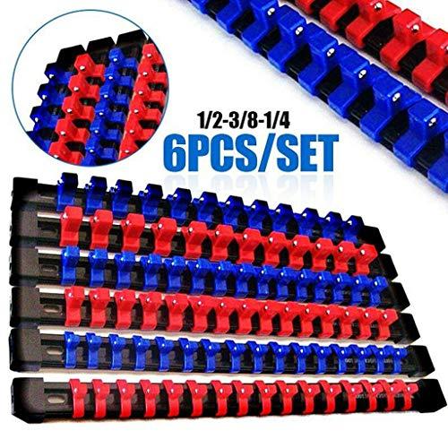 Automotive Tool Kit6Goliath Industrlal ABS M-ountable Socket Rail Rack Holder Organizer 14 38 12Ship from US