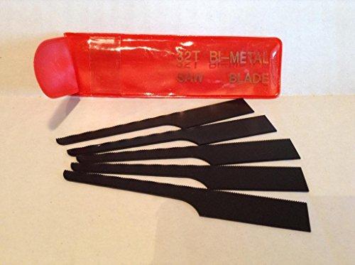 Bi Metal Blades for Air Saber Saw 5 Pc 32t