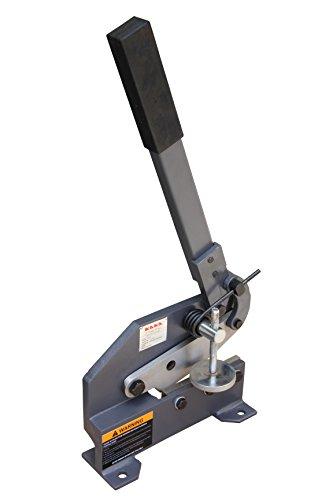 Kaka Industrial HS-6 6-Inch Sheet Metal Plate Shear Heavy Steel Frame Mounting Type Metal Shear High Accuracy Manual Hand Plate Shear
