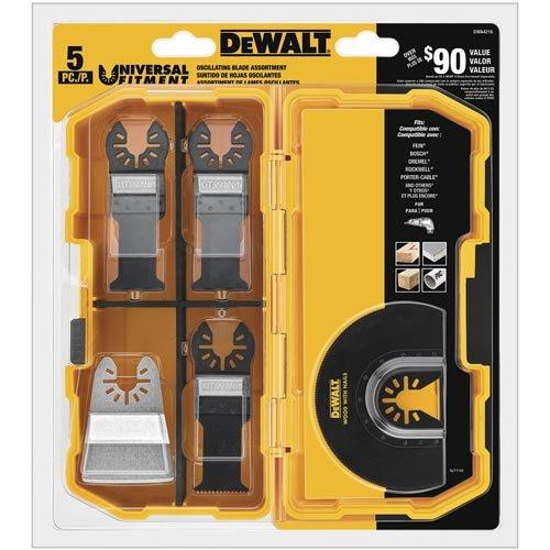 DEWALT Oscillating Tool Blades Kit 5-Piece DWA4216