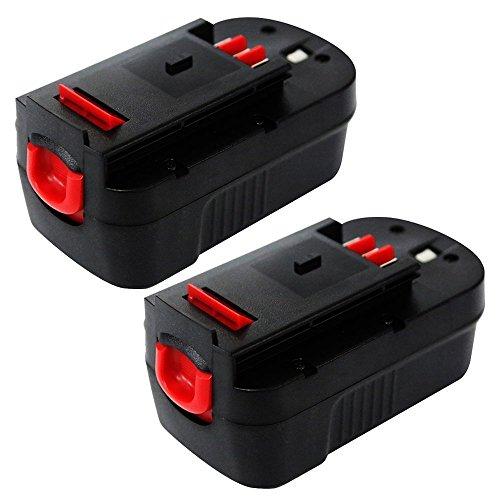 Enegitech 18V 20Ah Black Decker Replacement Battery for Power Tool HPB18 244760-00 A1718 A18 A18E HPB18 NST2118 HPB18-OPE FS18FL FSB18 Firestorm FS180BX FS18BX A18 Slide Style2 Pack