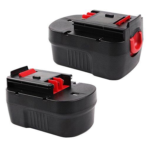 Enegitech Battery for Black Decker HPB14 144V 30Ah Cordless Power Tools Slide-Pack 2 Pack