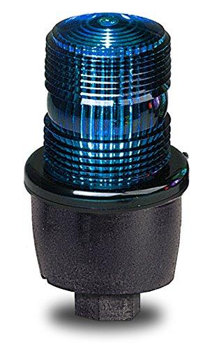 Federal Signal LP3PL-120B Streamline Low Profile Steady Burning LED Light Pipe Mount 120 VAC Blue