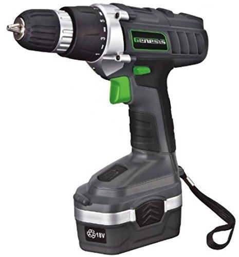 Jonyandwater Genesis GCD18BK 18v Cordless DrillDriver Kit Grey from-by_2014takeh_52131797510189
