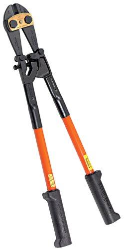 Klein Tools 63118 18-Inch Bolt Cutter - Fiberglass Handles