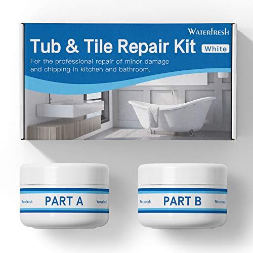 Tub Tile and Shower Repair Kit - White