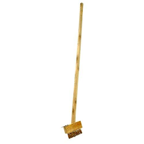 Short Patio Weeding Brush Weeding Tool Gardening Block Paving Brushes GAR07A