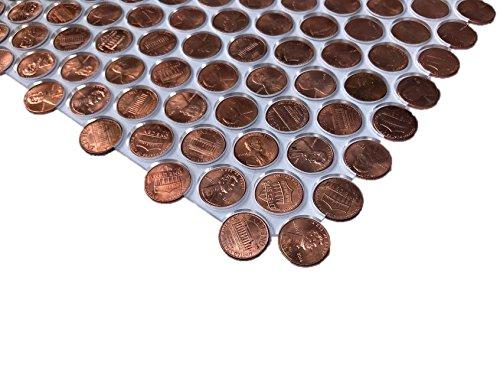 Penny Floor Tile TemplateJig plexiglass - Without Border