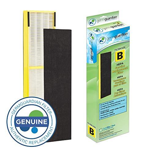 Germ Guardian FLT4825 True HEPA GENUINE Air Purifier Replacement Filter B for Germ Guardian AC4300BPTCA AC4900CA AC4825 AC4825DLX AC4850PT CDAP4500BCA CDAP4500WCA and More