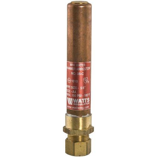 Watts 0009851 LF05 Mini Water Hammer Arrestor with 12 NPT Connection