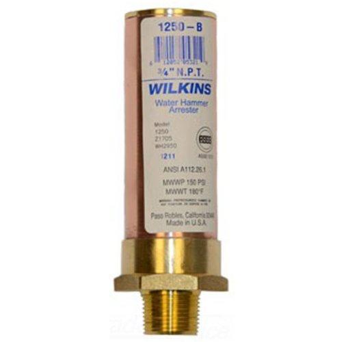 Zurn 1250-C Wilkins Water Hammer Arrestor 1-Inch MNPT