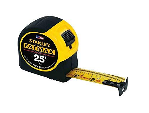 Stanley Tools 33-725 4 Pack 25ft Fatmax Tape Rule Yellow - AJ03915