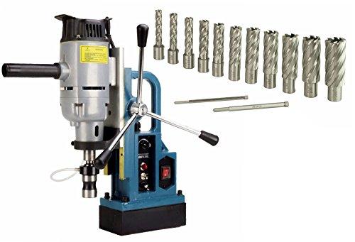 "Steel Dragon Tools MD45 Magnetic Drill Press 13pc 2"" HSS Annual Cutter Kit"