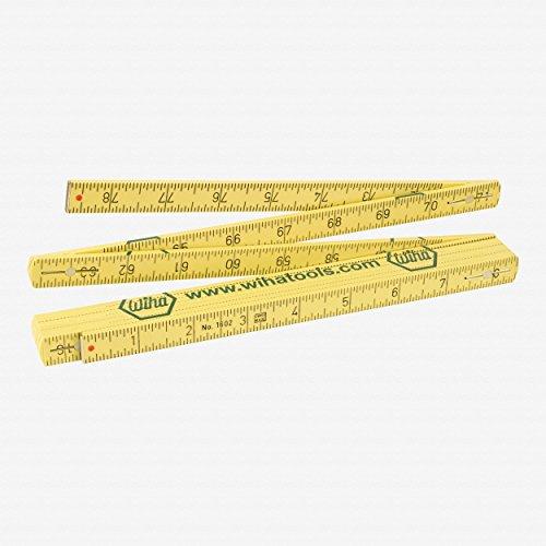 Wiha 61662 Metric Long Life MaxiFlex Folding Ruler with Outside Reading