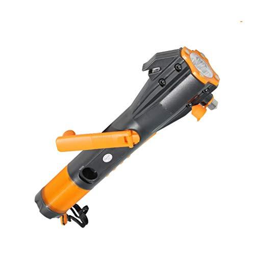 Coldcedar XLN 703 Multifunctional Hand Generator Torch Emergency Hammer Seat Belt Cutter