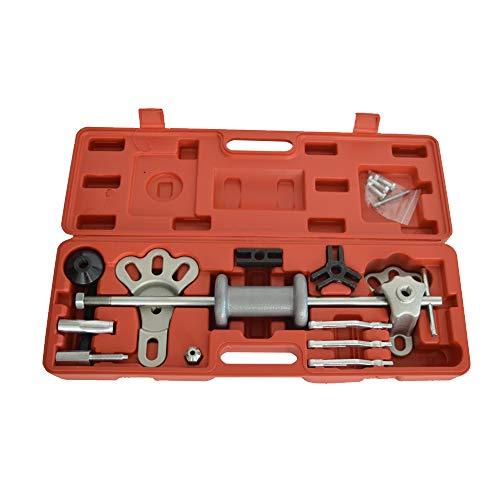 Intbuying 17pcsset Slide Hammer Puller Set Automotive Slide Axle Shaft Puller Tool Kit