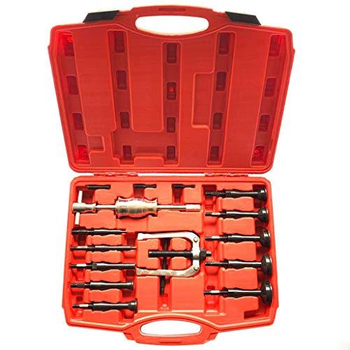 KIOLPO 16pc Extractor Remover Slide Hammer KitBlind Inner Bearing Puller Hole Remover Extractor KitSlide Hammer Puller Set For the professional and DIY