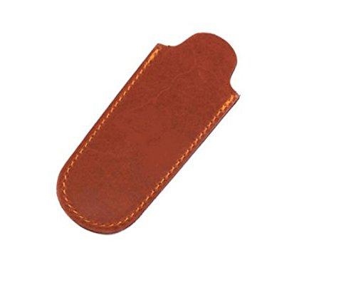 Max Capdebarthes Pocket knife sheath 10 cm Maya brown