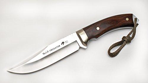 MUELA PREDATOR-14R MUELA PREDATOR-14R 5-12 Fixed Blade Hunting Knife with Leather sheath 5 12