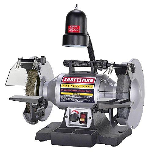 Craftsman Professional Variable Speed 8 Bench Grinder 21162