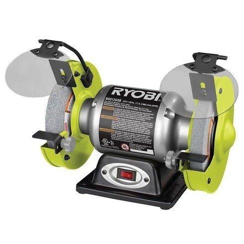 Ryobi 6 in Bench Grinder BG612GSB