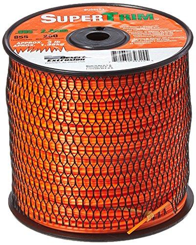 SuperTrim SU095S3-2 0095-Inch 3-Pound Spool Home Owner Grade Round Grass Trimmer Line Orange