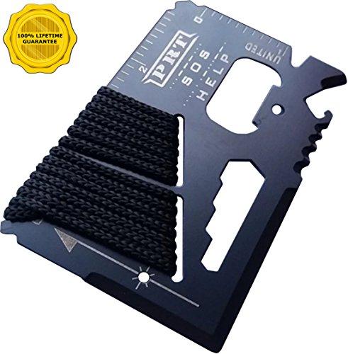Survival Multi Tool - RumbaDock Survival Gear Tools 14-1 Credit Card Multitool- Best SAS Survival Kit Multi-tool- Ideal for Fishing Survival Kit Multitool Lifetime Warranty