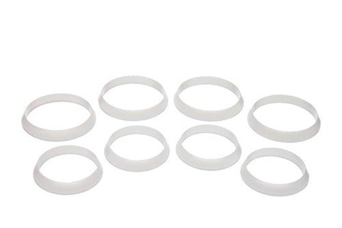 Danco 81086 Slip Joint Washer Assortment Plastic White