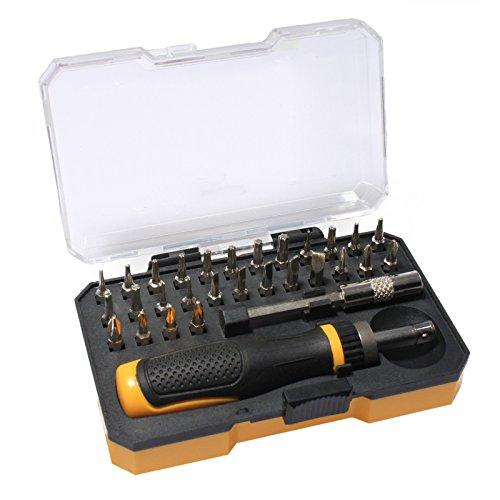 30 Piece Precision Ratchet Screwdriver Set