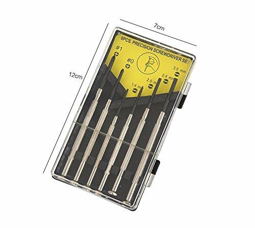 6pcs Watch mobilePhone Screwdriver Set Combination Group Of glasses Screwdriver Precision Screwdriver Repair Tool