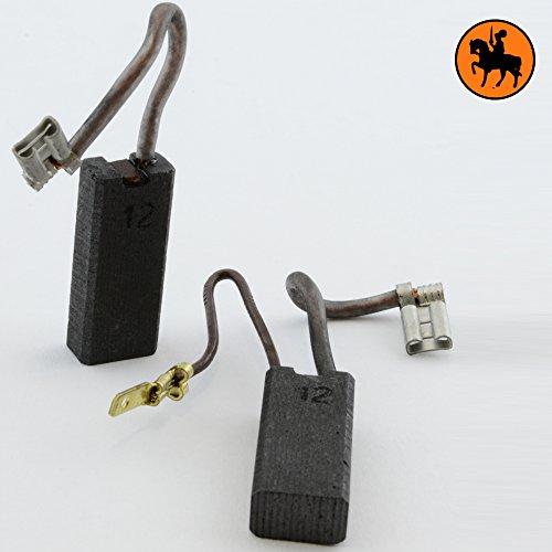 Buildalot Universal Carbon Brushes bu_8719468514944 for Black Decker DeWalt Metabo Powertools - 024x039x094 - 6x10x24mm - With automatic stop