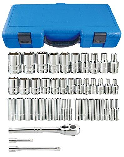 KT Pro Tools A2505CR 14 Drive 44-Piece Combination Socket Set