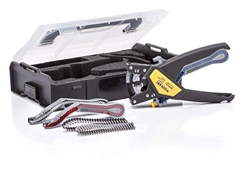 JOKARI QUADRO PLUS Set Part 62000 Ratcheting Multi-Function Tool for Cutting Stripping Twisting Crimping Wire