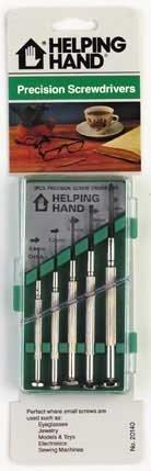Helping Hand 20140 5 Piece JewelerS Screwdriver Set