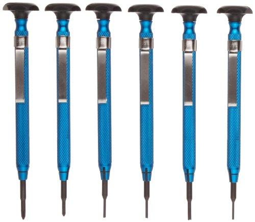Moody Tools 58-0670 6-Piece SlotPhilScrew Extractor Combo Reversible Driver Set