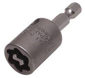 EazyPower 88247 14 One Way Screw RemoverInstaller 2 Long Power Bit x 14 Hex